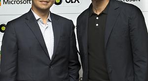 Bhavish Aggarwal, Ola & Satya Nadella, Microsoft