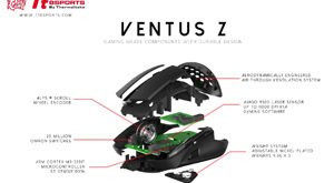 Thermaltake new Tt eSPORTS VENTUS Z Advanced Gaming Mouse