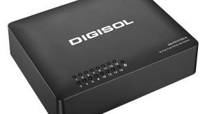 DIGISOL launches 16 Port Fast Ethernet Unmanaged Switch with External Power Adapter
