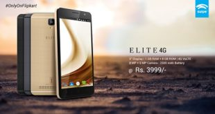 """Swipe launches India's Most Affordable 5"""" 4G Smartphone with Gorilla Glass"""