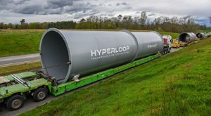 Hyperloop Transportation Technologies Begins Construction on World's First Full-Scale Passenger & Freight System