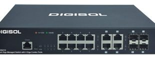 DIGISOL launches 8 Port Gigabit Ethernet Smart Managed Switch with 4 Combo Ports