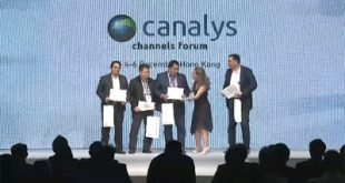 Canalys Recognise itVARnews as Most Hardworking Media, APAC at CCF Hongkong