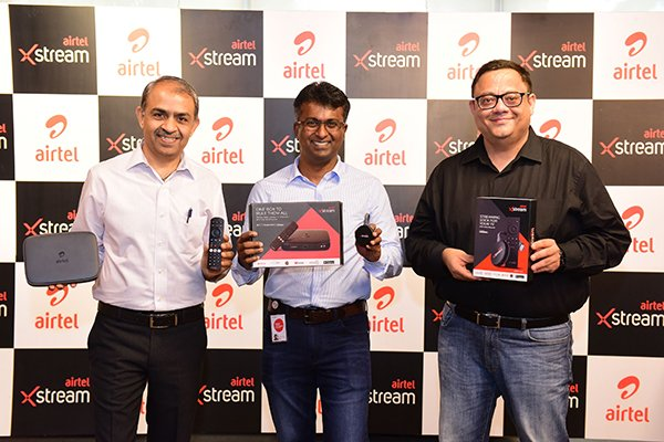 Airtel Launches 'Airtel Xstream'