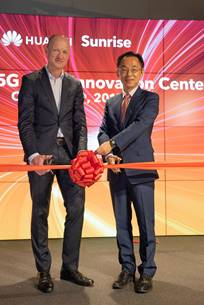 Sunrise Opens First European 5G Joint Innovation Center Jointly with Huawei