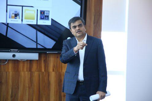 Ashish P. Dhakan, MD & CEO, Prama Hikvision India.