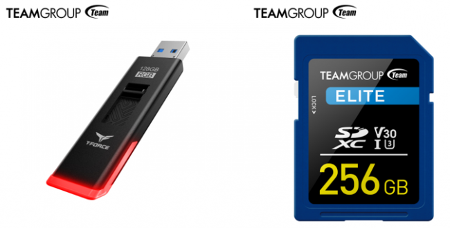 TEAMGROUP Launches T-FORCE SPARK RGB USB Flash Drive and ELITE SDXC 4K HD Memory Card  The Combination of Aesthetics and Technology Offers Fresh New Look to Storage Devices
